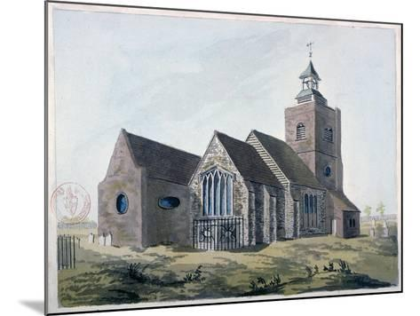 Church of St Mary the Virgin, Leyton, Waltham Forest, London, 1799--Mounted Giclee Print