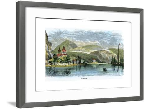 Remagen, Germany, C1875--Framed Art Print