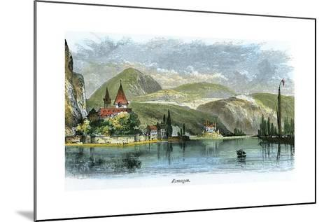 Remagen, Germany, C1875--Mounted Giclee Print