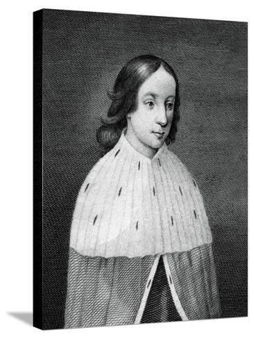 James IV of Scotland as a Boy--Stretched Canvas Print