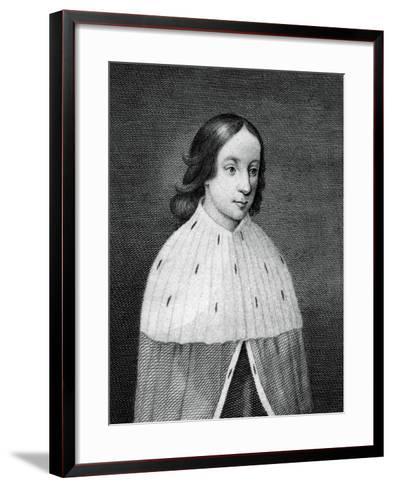 James IV of Scotland as a Boy--Framed Art Print