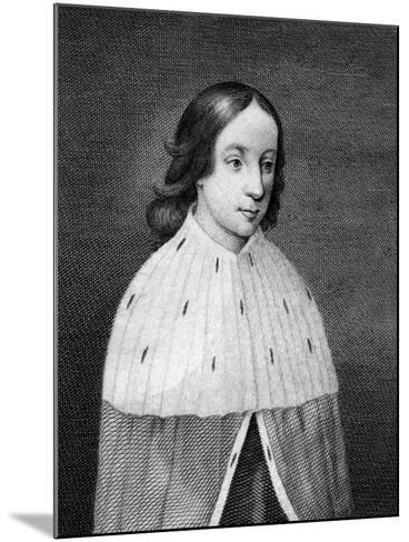James IV of Scotland as a Boy--Mounted Giclee Print
