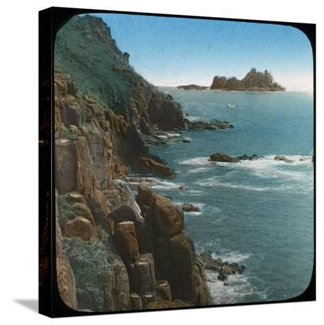 Land's End, Cornwall, Late 19th or Early 20th Century--Stretched Canvas Print