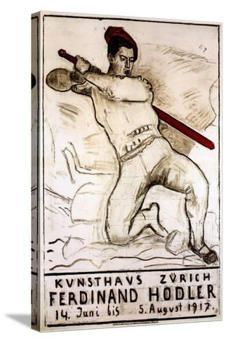 Art House Zürich: Ferdinand Hodler, 1917-Ferdinand Hodler-Stretched Canvas Print