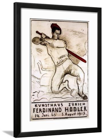 Art House Zürich: Ferdinand Hodler, 1917-Ferdinand Hodler-Framed Art Print