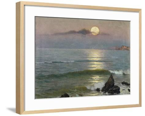 Moonlight-Guillermo G?mez Gil-Framed Art Print