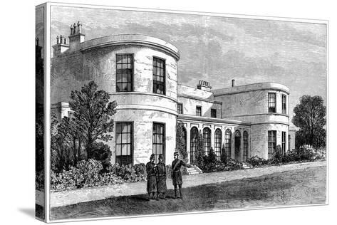 Residence of the Chief Secretary for Ireland, Phoenix Park, Dublin--Stretched Canvas Print
