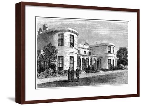 Residence of the Chief Secretary for Ireland, Phoenix Park, Dublin--Framed Art Print