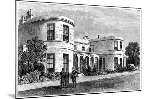 Residence of the Chief Secretary for Ireland, Phoenix Park, Dublin--Mounted Giclee Print