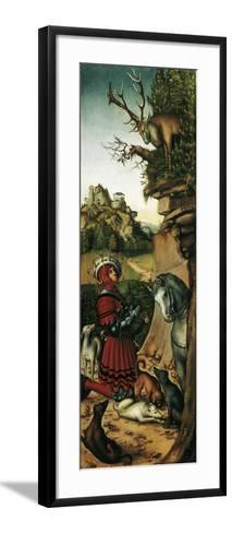 Saint Eustace-Lucas Cranach the Elder-Framed Art Print