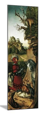 Saint Eustace-Lucas Cranach the Elder-Mounted Giclee Print