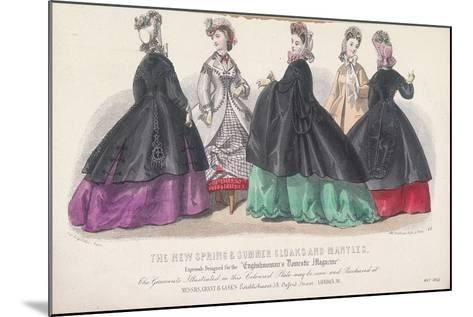 Five Women Wearing Spring and Summer Coats and Mantles, 1864-Rigolet Rigolet-Mounted Giclee Print