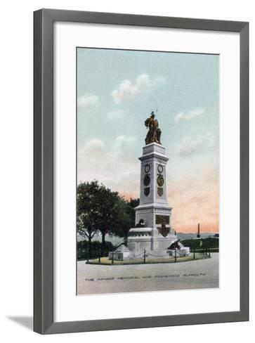 The Armada Memorial, Hoe Promenade, Plymouth, Devon, Early 20th Century--Framed Art Print