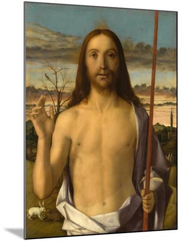 Christ Blessing-Giovanni Bellini-Mounted Giclee Print
