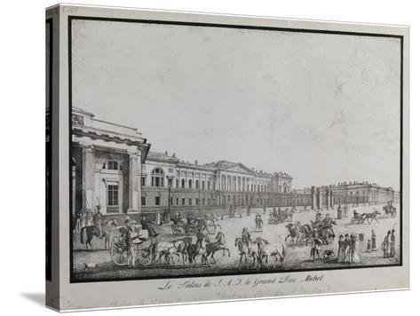 The Old Michael Palace in Saint Petersburg-Alexander Pluchart-Stretched Canvas Print