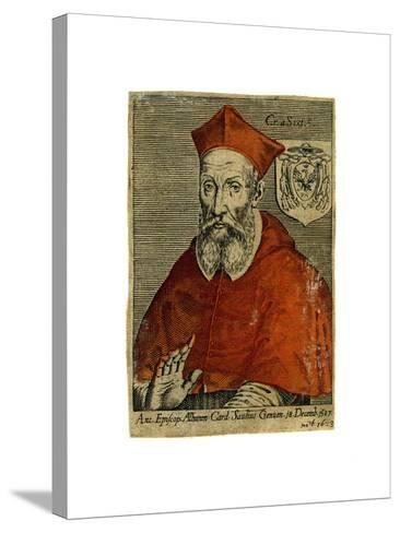 A Cardinal, 16th Century--Stretched Canvas Print