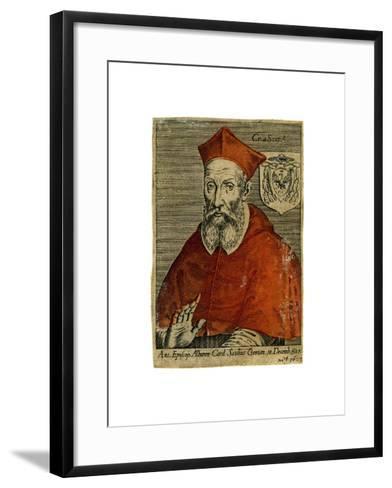 A Cardinal, 16th Century--Framed Art Print