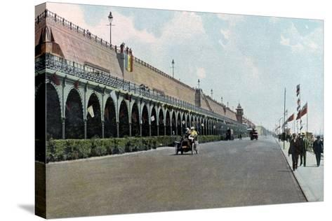 Madeira Road Motor Track, Brighton, East Sussex, C1900s-C1920s--Stretched Canvas Print