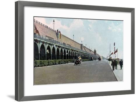 Madeira Road Motor Track, Brighton, East Sussex, C1900s-C1920s--Framed Art Print
