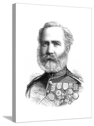 Major John Mcblain, 1885--Stretched Canvas Print