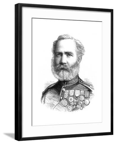 Major John Mcblain, 1885--Framed Art Print