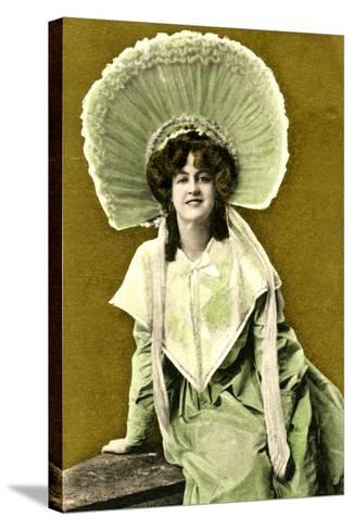 Marie Studholme (1875-193), English Actress, Early 20th Century- J Beagles & Co.-Stretched Canvas Print