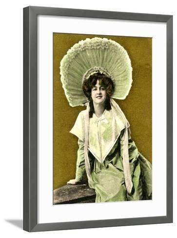 Marie Studholme (1875-193), English Actress, Early 20th Century- J Beagles & Co.-Framed Art Print