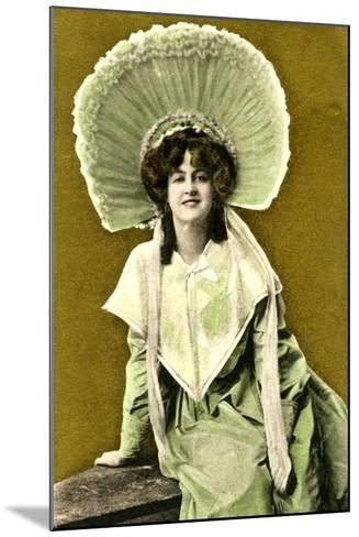 Marie Studholme (1875-193), English Actress, Early 20th Century- J Beagles & Co.-Mounted Giclee Print