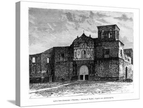 Church of San Francisco, Panama, Central America, 19th Century-Taylor-Stretched Canvas Print