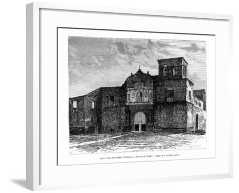Church of San Francisco, Panama, Central America, 19th Century-Taylor-Framed Art Print