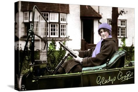 Gladys Cooper (1888-197), English Actress, Early 20th Century--Stretched Canvas Print