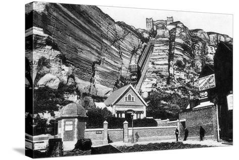 East Hill Lift, Hastings, East Sussex, Early 20th Century--Stretched Canvas Print