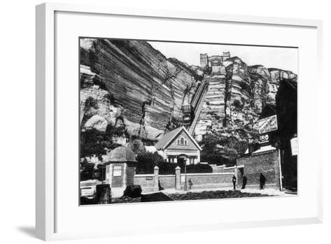 East Hill Lift, Hastings, East Sussex, Early 20th Century--Framed Art Print