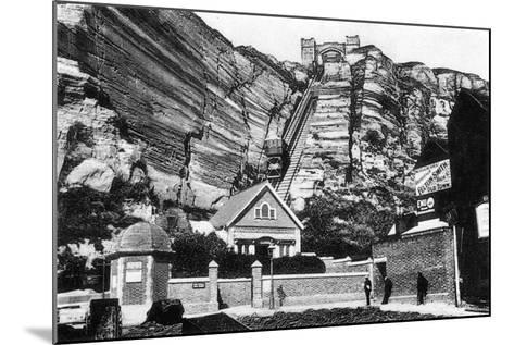 East Hill Lift, Hastings, East Sussex, Early 20th Century--Mounted Giclee Print
