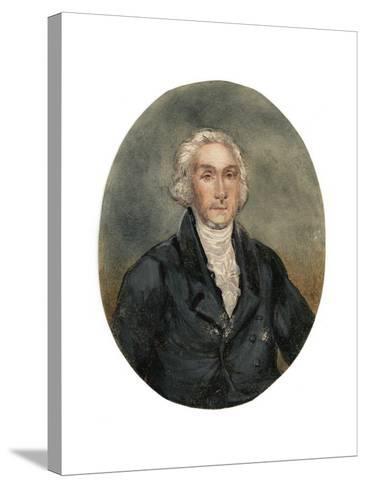 Reverend George Burden (1811-189), 19th Century--Stretched Canvas Print