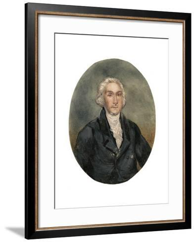 Reverend George Burden (1811-189), 19th Century--Framed Art Print