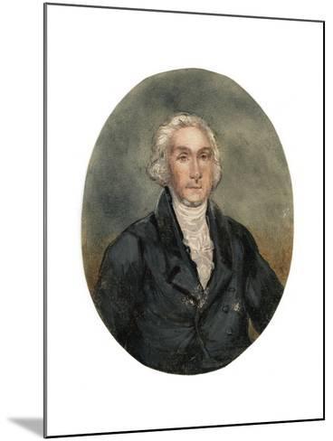 Reverend George Burden (1811-189), 19th Century--Mounted Giclee Print
