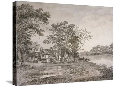 View of Cheesecake House in Hyde Park, London, 1795--Stretched Canvas Print