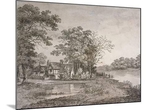 View of Cheesecake House in Hyde Park, London, 1795--Mounted Giclee Print