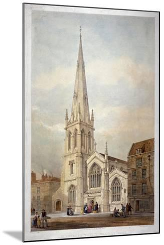 St Andrew's Church, Wells Street, Marylebone, London, C1846-Day & Haghe-Mounted Giclee Print