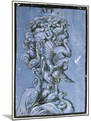 Air, C1600--Mounted Giclee Print