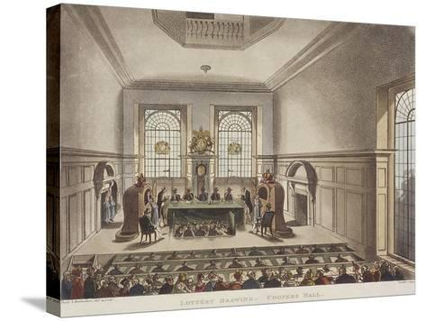 Apothecaries' Hall, London, C1780-John Carter-Stretched Canvas Print