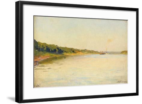 The Volga River Bank, 1889-Isaak Ilyich Levitan-Framed Art Print
