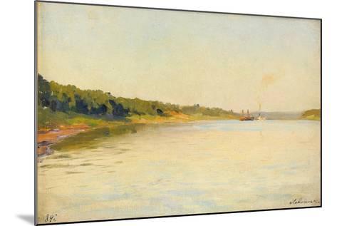 The Volga River Bank, 1889-Isaak Ilyich Levitan-Mounted Giclee Print