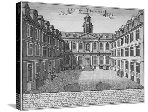 Royal College of Physicians, City of London, 1700--Stretched Canvas Print
