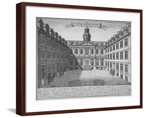 Royal College of Physicians, City of London, 1700--Framed Art Print