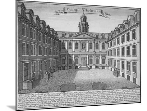 Royal College of Physicians, City of London, 1700--Mounted Giclee Print