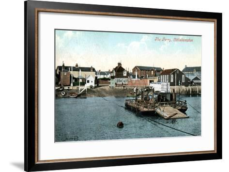 The Ferry at Littlehampton, West Sussex, 1907--Framed Art Print