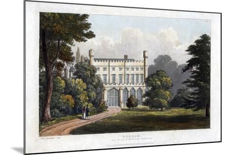 Wonham, Surrey, Seat of Lord Templeton, C1827-Frederick Wilton Litchfield Stockdale-Mounted Giclee Print