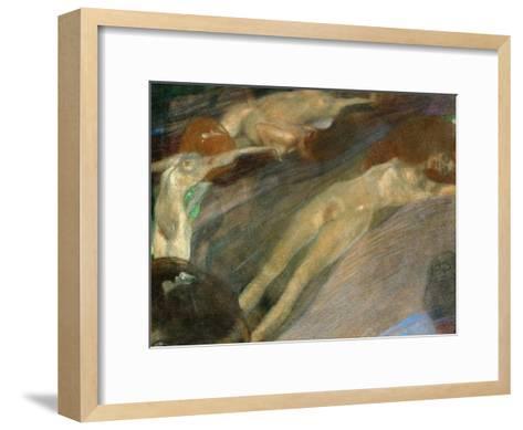 Moving Water, 1898-Gustav Klimt-Framed Art Print